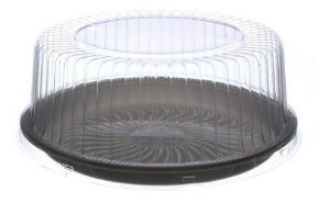Torta/Bolo Embalagem Base Preta Média  S50 PRM - 1 unid.
