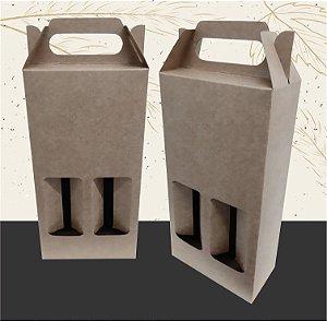Caixa para 2 Garrafas de Cerveja LONG NECK-  330ML  (unidade)