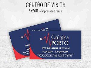 Cartão de Visita 9x5cm - Frente