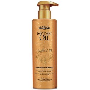 Shampoo Mythic Oil Souffle D'or 250ml L´Oréal Professionnel (Para cabelos finos, sem brilho ou oleosos)