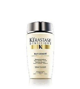 Kérastase Densifique Shampoo Bain Densité Shampoo Bodifying 250ml (acelera o crescimento de novos fios e restabelece a densidade dos cabelos em até três meses)