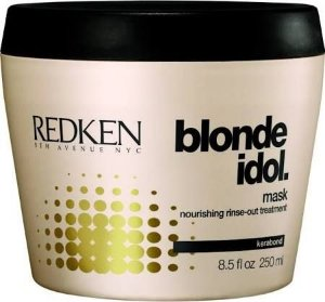 Redken Blonde idol mask - 250ml - Máscara Tratamento nutritivo com enxágue - Cabelos loiros