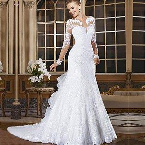 Vestido de Noiva Gardênia