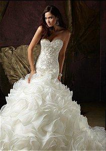 Vestido de Noiva Sereia Elegance