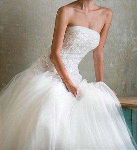 Vestido de Noiva Tomara que Caia Love