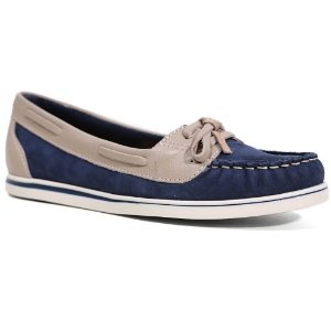 Sapato Bottero 24740 Dockside Feminino Azul Jeans Amêndoa