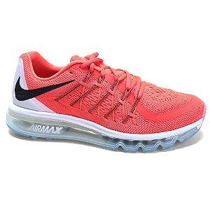 Tênis Nike Air Max 2015 698902 Masculino Bright Black White