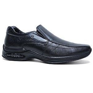 Sapato Jota Pe 10900 Casual Conforto Masculino Preto