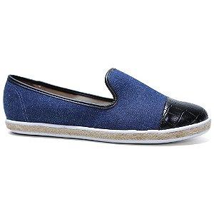 Sapatilha Vizzano 1228.103 Feminina Azul Jeans Preto