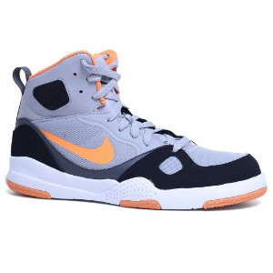 Tênis Nike Son Of Flight 704566 Wolf Grey Preto Laranja