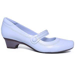 Sapato Feminino Neftali 4075 Branco Salto Baixo