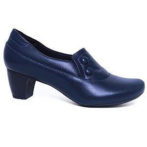 Sapato Feminino Neftali 4775 Marinho Salto médio