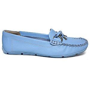 Mocassim Ramarim 15-87206 Maxxi Soft Blue Couro