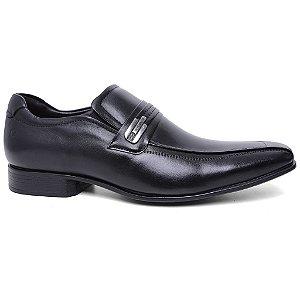 Sapato Democrata Clyde 131108 Social Masculino Couro Preto