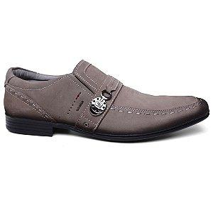 Sapato Rafarillo 6304 Masculino Casual Couro Cinza
