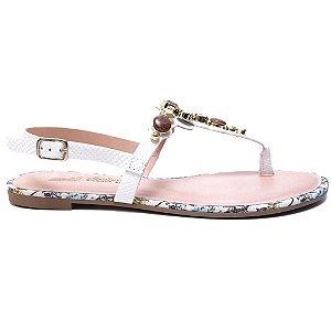 Sandália Dakota Z1362 Rasteira Feminina Branco