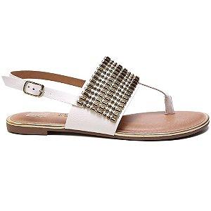Sandália Dakota Z1162 Rasteira Feminina Branco