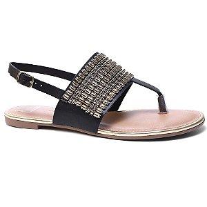 Sandália Dakota Z1162 Rasteira Feminina Preto