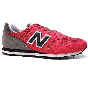 Tênis New Balance M373 Retro Red Vermelho Cinza