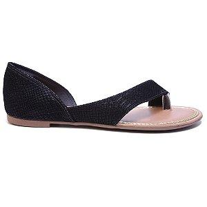 Sandália Dakota Z1481 Rasteira Feminina Preto