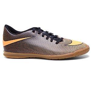 Chuteira Nike 844441 Futsal Bravata II IC Masculina Orange Black