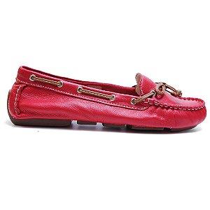 Sapato Bottero 258102 Dockside Feminino Vermelho Caramelo