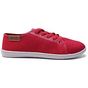 Tênis Moleca 5605.100 Feminino Casual Vermelho
