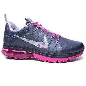 Tênis Nike Air Max Supreme 4 806868 Grey Pink Silver