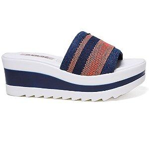 Tamanco Quiz 46-56702 Cabedal Azul Jeans Vintage Gorgurao