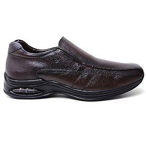 Sapato Jota Pe 10900 Casual Conforto Masculino Dark Brown