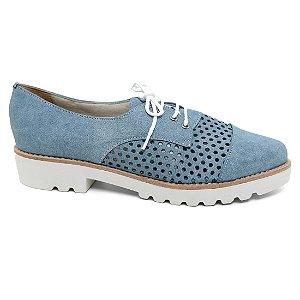 Oxford Feminino Studium Rius 4470-773 Tratorado Blue Jeans