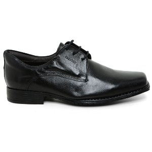 Sapato Calvest 1700B848 Amarrar Social Masculino Preto