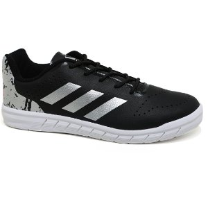 Tênis Adidas Quicksport Junior H68506 Black Silver White Tam 30 ao 36