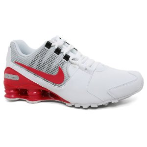 Tênis Nike Shox 833584 Avenue LTR White Orange