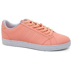 Tênis Adidas Advantage Clean W B74578 Feminino Salmão