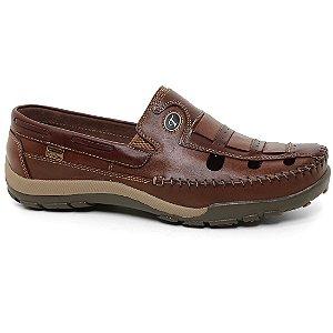 Sapato Tertuliano Mocassim 079 Masculino Caramelo Tabaco