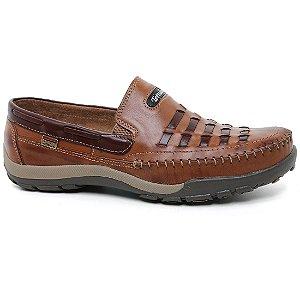 Sapato Tertuliano Mocassim 058 Masculino Whisk Tabaco