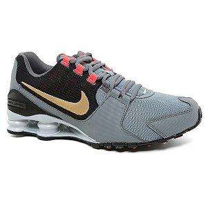 Tênis Nike Shox Avenue 833583 Masculino Grey Gold Black