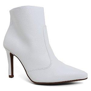 Bota Vizzano Ankle Boots 3049.113 Feminina Branco
