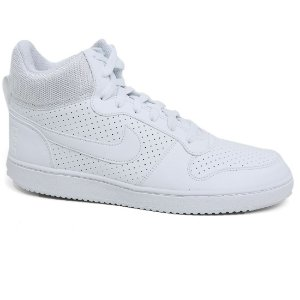 Tênis Nike Court Borough Mid 838938 Masculino White