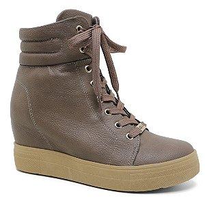 Bota Quiz 47-61902 Sneaker Plataforma Feminina Rato