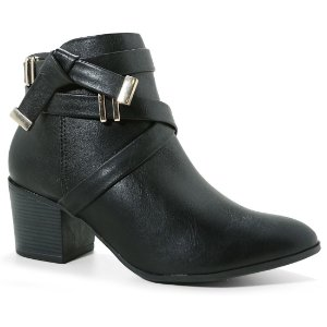 Bota Ramarim 17-64102 Ankle Boot Feminina Preto