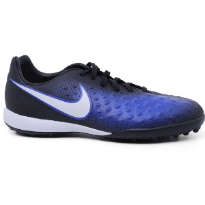 Tênis Nike MagistaX Opus II TF Junior 844421 Black White Blue