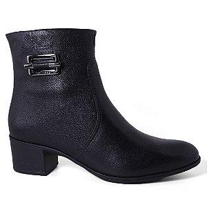 Bota Bottero 266106 Ankle Boots Feminina Preto