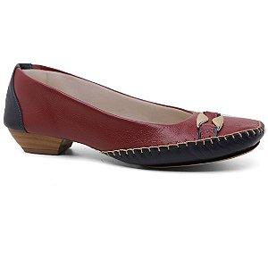 Sapato Di Firenze 1894 Casual Confort Salto Baixo