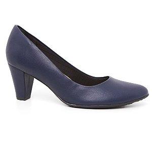 Sapato Piccadilly 700056 Scarpin Casual Feminino Azul