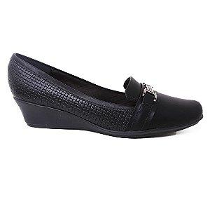 Sapato Piccadilly 143024 Scarpin Casual Feminino Anabela