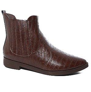 Bota Piccadilly 725026 Chelsea Boot Feminina Cano Curto