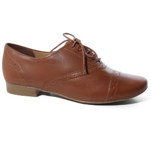 Sapato Bottero 259402 Oxford Bico Fino FemininoCasual