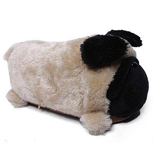 Pantufa 3D Pug Ricsen